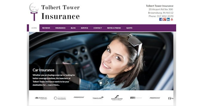 New Tolbert Tower Website